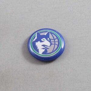 NBA Minnesota Timberwolves Button 03