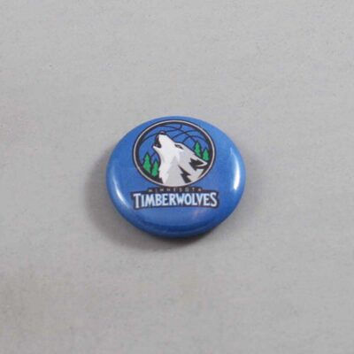 NBA Minnesota Timberwolves Button 04