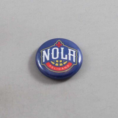 NBA New Orleans Pelicans Button 04