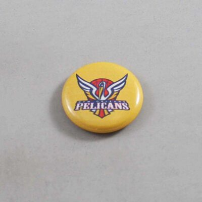 NBA New Orleans Pelicans Button 06