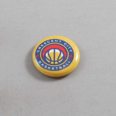 NBA New Orleans Pelicans Button 07