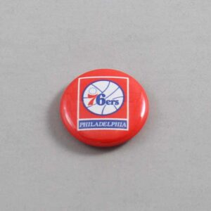 NBA Philadelphia 76ers Button 03