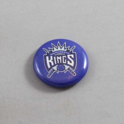 NBA Sacramento Kings Button 01