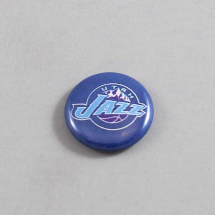 NBA Utah Jazz Button 01