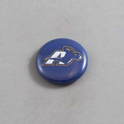 NCAA Akron Zips Button 01