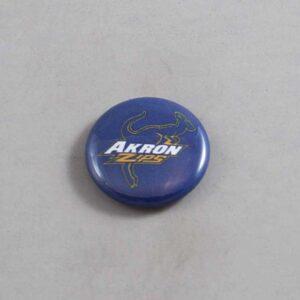 NCAA Akron Zips Button 04