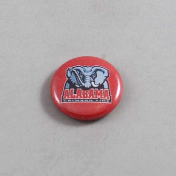NCAA Alabama Crimson Tide Button 04