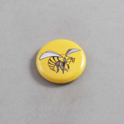 NCAA Alabama State Hornets Button 01