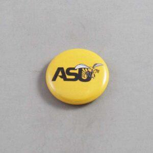 NCAA Alabama State Hornets Button 02