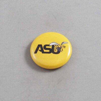 NCAA Alabama State Hornets Button 02