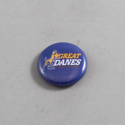 NCAA Albany Great Danes Button 03