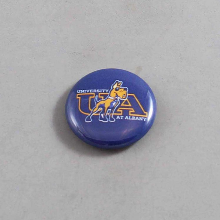 NCAA Albany Great Danes Button 04