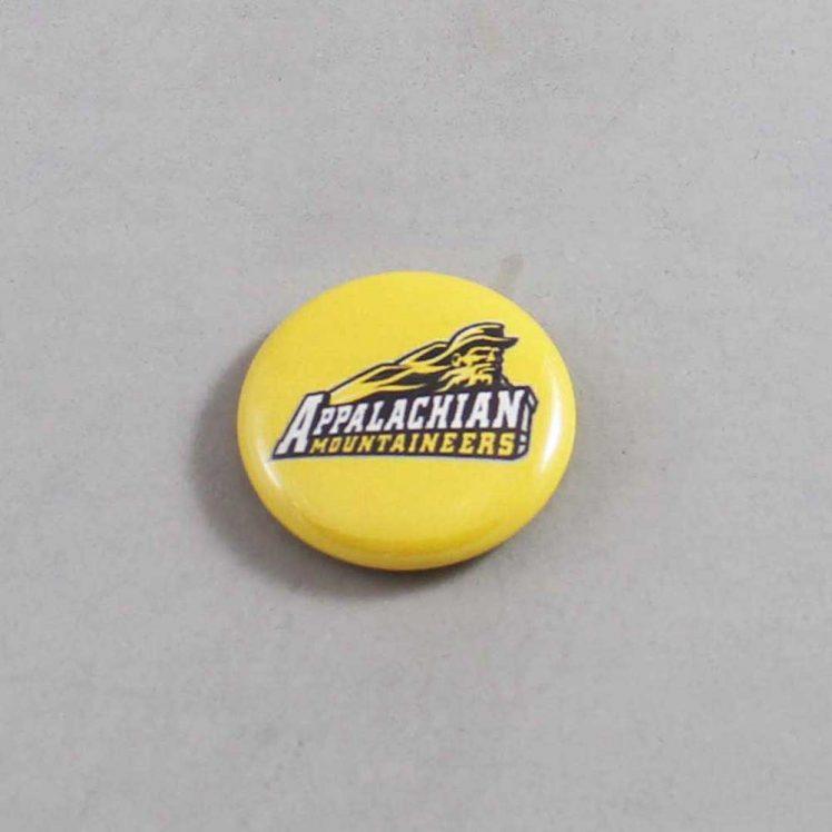 NCAA Appalachian State Mountaineers Button 01