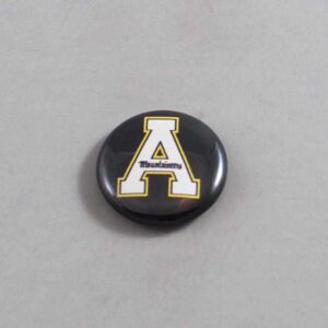 NCAA Appalachian State Mountaineers Button 04