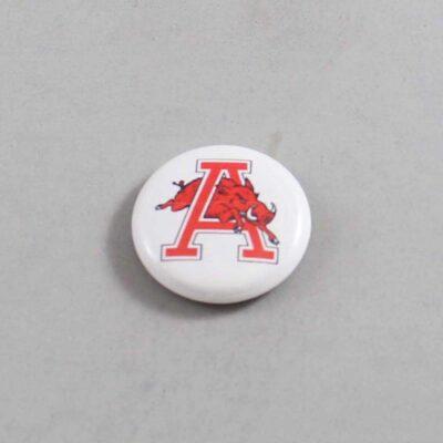NCAA Arkansas Razorbacks Button 05