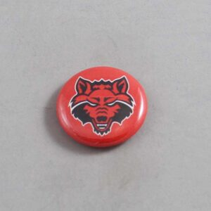 NCAA Arkansas State Red Wolves Button 03