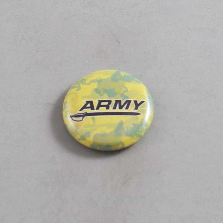 NCAA Army Black Knightss Button 01