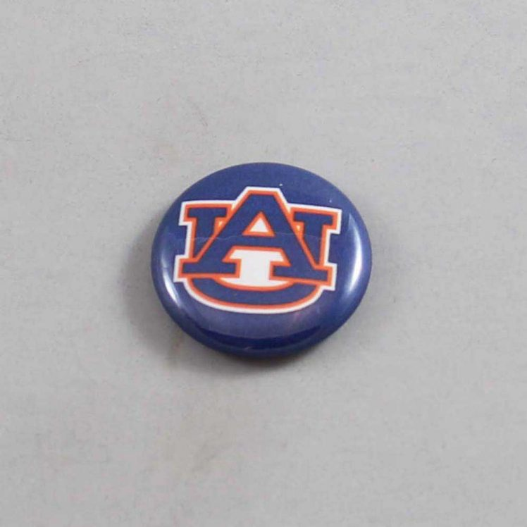 NCAA Auburn Tigers Button 01
