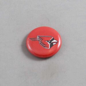 NCAA Ball State Cardinals Button 01