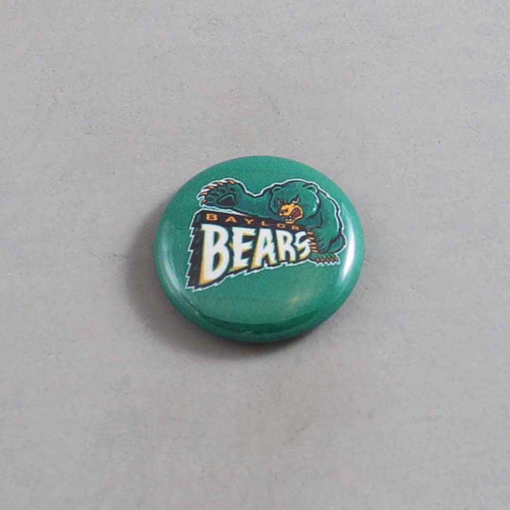 NCAA Baylor Bearss Button 03