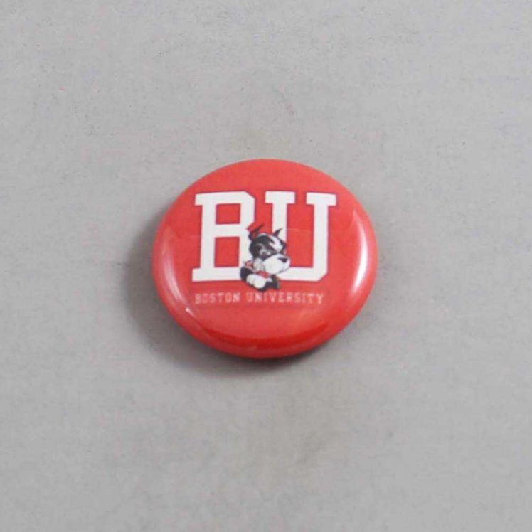 NCAA Boston Terriers Button 01