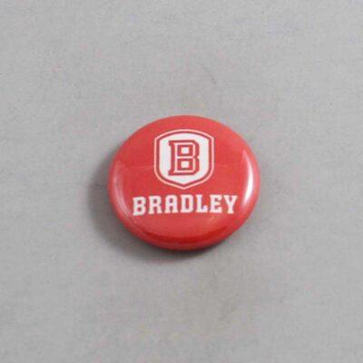 NCAA Bradley Braves Button 02
