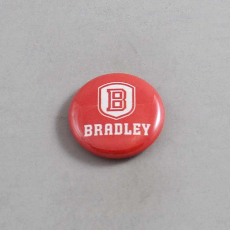 NCAA Bradley Braves Button 02