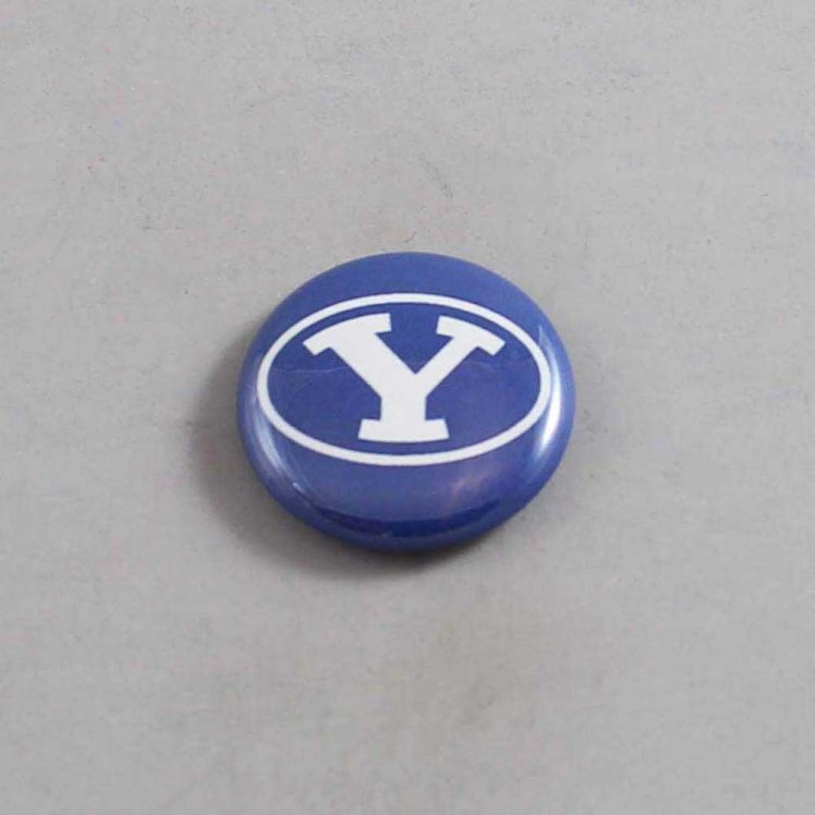 NCAA Brigham Young Cougars Button 01