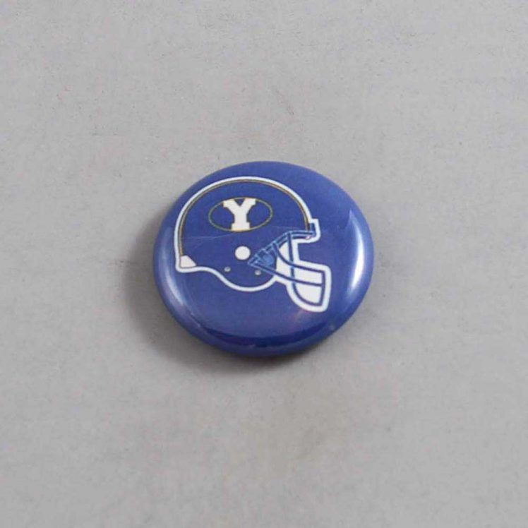 NCAA Brigham Young Cougars Button 02