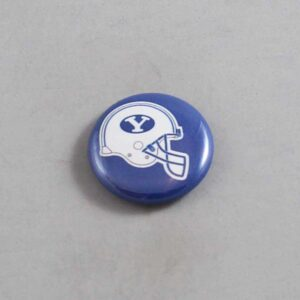 NCAA Brigham Young Cougars Button 03