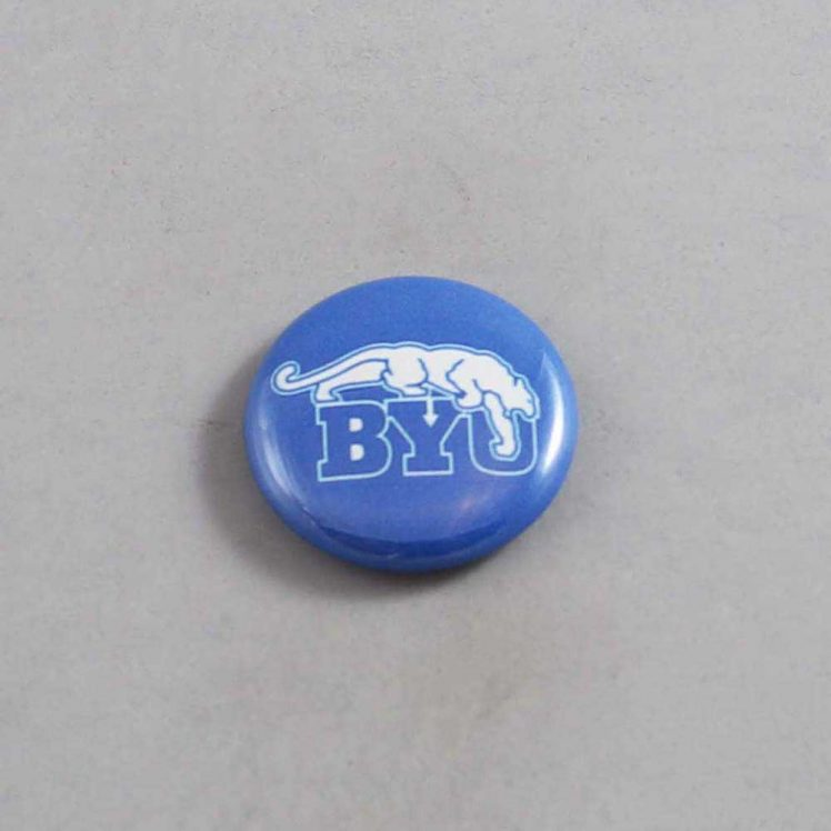 NCAA Brigham Young Cougars Button 05