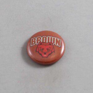 NCAA Brown Bears Button 01
