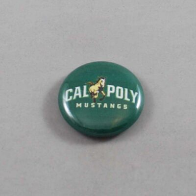 NCAA Cal Poly Mustangs Button 01