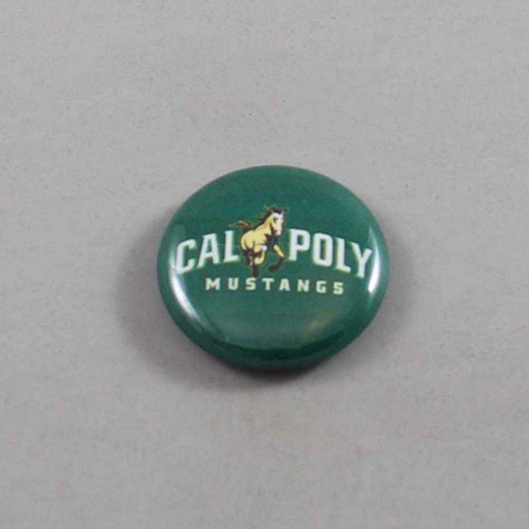 NCAA Cal Poly Mustangs Button 01