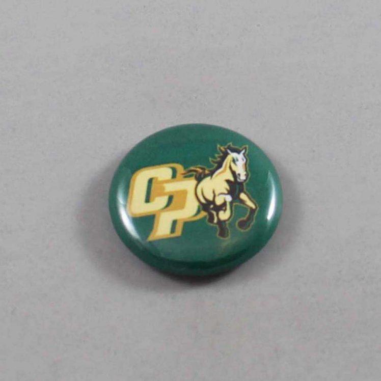 NCAA Cal Poly Mustangs Button 02
