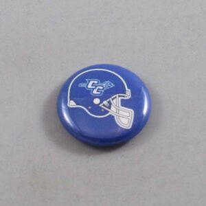 NCAA Central Connecticut State Blue Devils Button 01