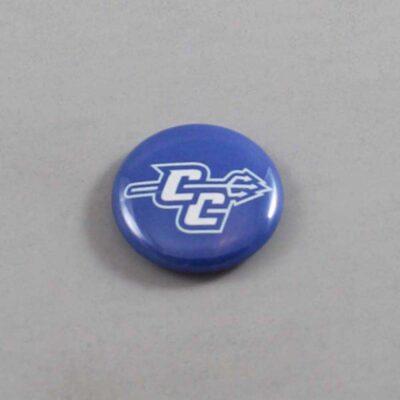NCAA Central Connecticut State Blue Devils Button 04
