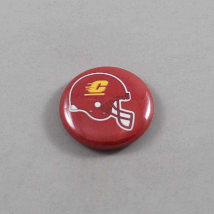 NCAA Central Michigan Chippewas Button 01