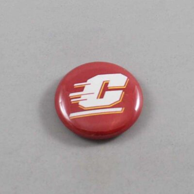NCAA Central Michigan Chippewas Button 02