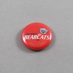 NCAA Cincinnati Bearcats Button 01