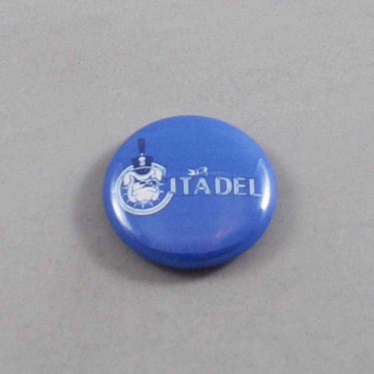 NCAA Citadel Bulldogs Button 01