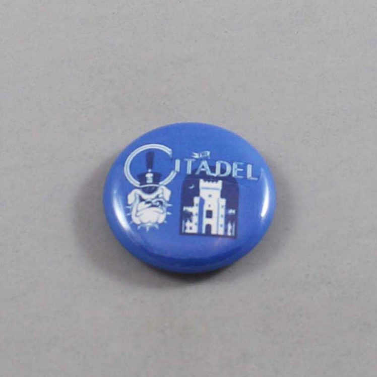 NCAA Citadel Bulldogs Button 03