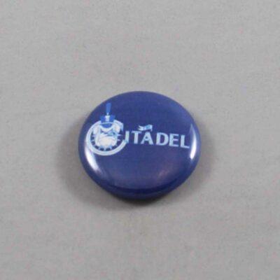 NCAA Citadel Bulldogs Button 07