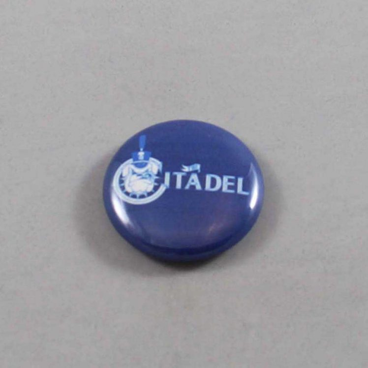 NCAA Citadel Bulldogs Button 07