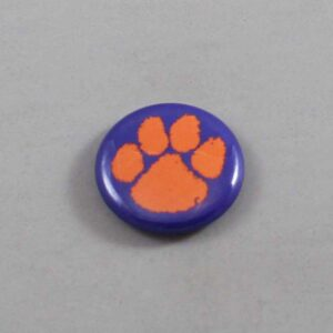 NCAA Clemson Tigers Button 04
