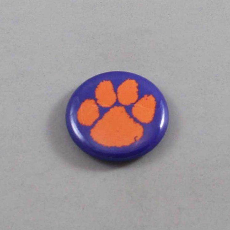 NCAA Clemson Tigers Button 04