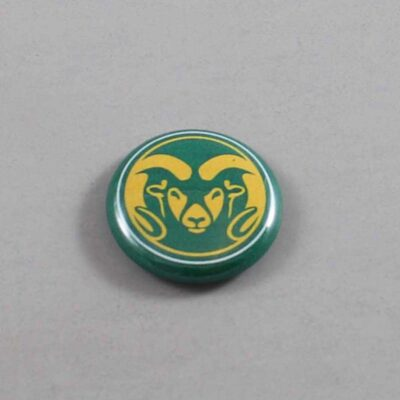 NCAA Colorado State Rams Button 01