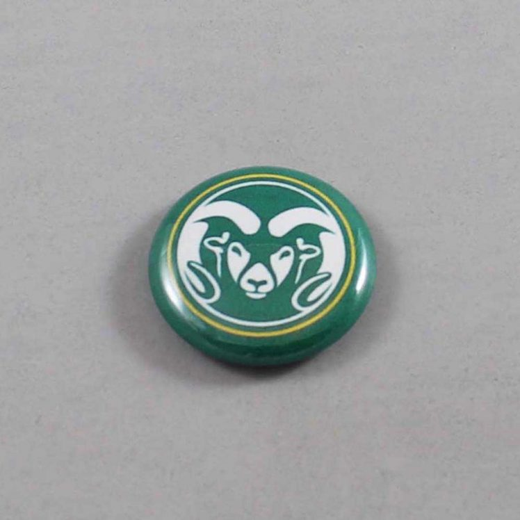 NCAA Colorado State Rams Button 03