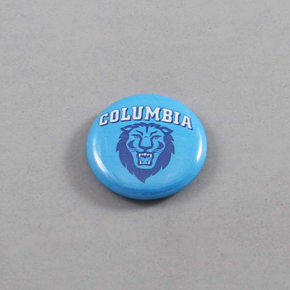NCAA Columbia Lions Button 03