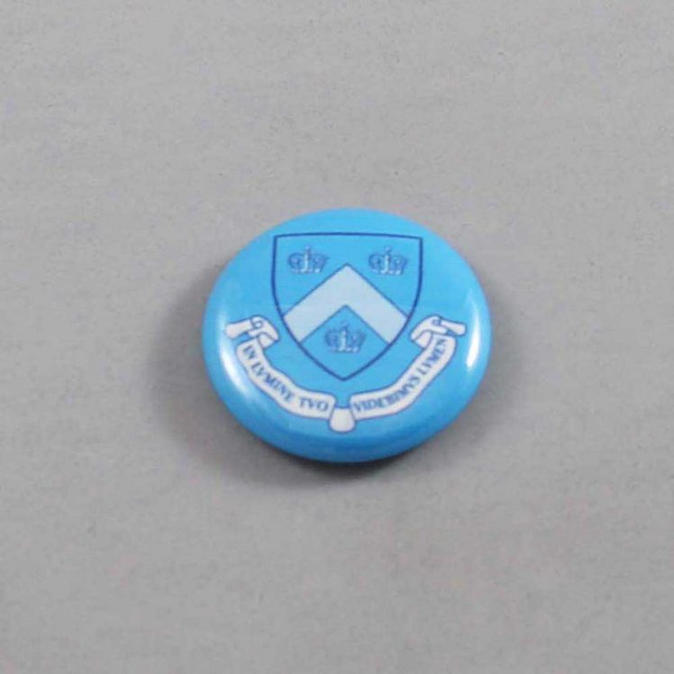 NCAA Columbia Lions Button 04